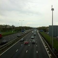Photo taken at Leicester Forest Motorway Services (Welcome Break) by Mark W. on 4/12/2012