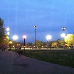 Photo taken at McCarren Park by BrooklynBoyO on 4/14/2012