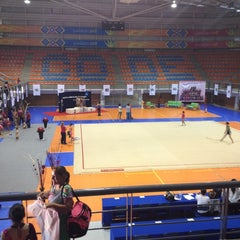 Photo taken at Complejo Panamericano de Voleibol by Zaid A. on 5/10/2012