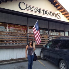 Photo taken at Cheese Traders by Melissa S. on 3/21/2012