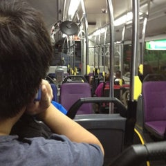 Photo taken at SMRT Buses: Bus 858 by Nur M. on 8/4/2012