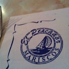 Photo taken at El Pescador by 〰Liz 〰 on 4/6/2012