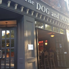 Photo taken at The Dog and Duck by JetzNY on 5/18/2012
