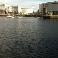 Photo taken at Clarendon Dock by Tommy C. on 8/4/2012
