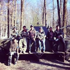 Photo taken at Skirmish USA by Janet N. on 4/7/2012