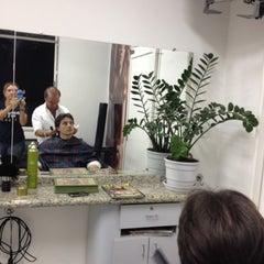 Photo taken at Wander Cabeleireiro by Renata L. on 7/26/2012