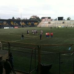 Photo taken at Estadio Ruben Marcos Peralta by Carlos R. on 5/13/2012