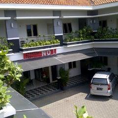 Photo taken at Hotel Trijaya by Ngui M. on 4/21/2012