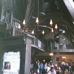 Photo taken at The Three Broomsticks by Lauren M. on 6/26/2012