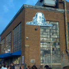 Photo taken at Electric Factory by Benjamin P. on 8/4/2012