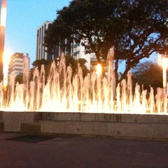 Photo taken at Praça Diogo de Vasconcelos (Praça da Savassi) by Dan A. on 6/15/2012