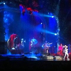 Photo taken at Zarkana by Cirque du Soleil by Miguel G. on 8/31/2012