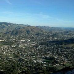 Photo taken at Bishop Peak (The Summit) by Noah S. on 2/5/2012