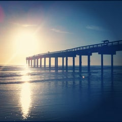 Photo taken at St. Augustine Pier by Timmy D. on 3/15/2012