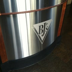 Photo taken at BJ's Restaurant and Brewhouse by Dustyn F. on 5/10/2012