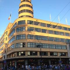 Photo taken at Café Belga by Arnaud on 9/8/2012