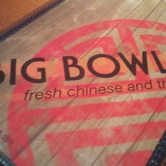 Photo taken at Big Bowl by Laura D. on 2/16/2012