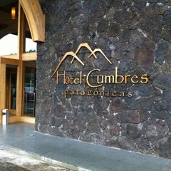 Photo taken at Hotel Cumbres Patagónicas by Patrick O. on 2/21/2012