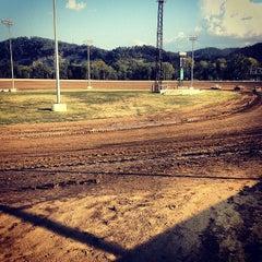 Photo taken at Portsmouth Raceway Park by Megan W. on 8/25/2012