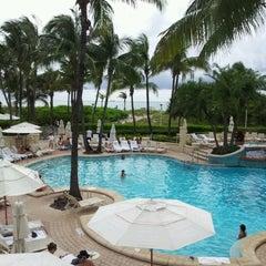 Photo taken at Loews Miami Beach Pool by MsAnastasia P. on 6/22/2012