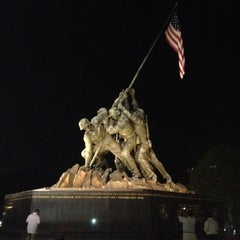 Photo taken at US Marine Corps War Memorial (Iwo Jima) by Chris D. on 7/30/2012