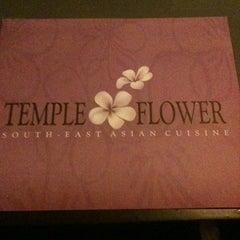 Photo taken at Temple Flower Restaurant by Samir P. on 4/6/2012