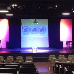 Photo taken at SAK Comedy Lab by Cody B. on 2/25/2012