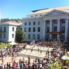 Photo taken at Sproul Plaza by Sean R. on 4/21/2012