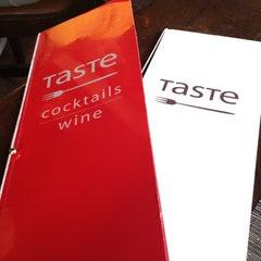 Photo taken at Taste on Melrose by Mercedes M. on 3/18/2012