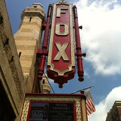 Photo taken at The Fox Theatre by Kirsten on 8/18/2012
