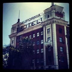 Photo taken at California Hotel by Ann B. on 4/4/2012