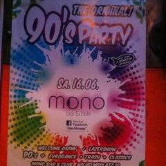 Photo taken at Mono Bar & Club by Kopfkinoistin on 5/19/2012