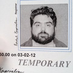 Photo taken at Registry of Motor Vehicles by Jay C. on 3/2/2012