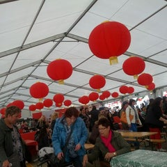Photo taken at Libelle Zomerweek 2012 China Town by Jasper D. on 5/13/2012