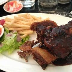 Photo taken at Bit Tet TiTi French Restaurant by Steve B. on 9/2/2012