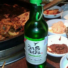 Photo taken at Chunchun Chicken Galbi by Jenny L. on 2/17/2012