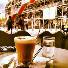 Photo taken at Café Beaubourg by Sebas A. on 9/12/2012