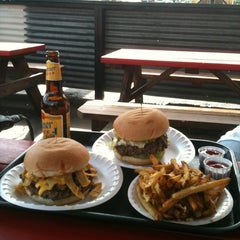 Photo taken at Hubcap Grill & Beer Yard by Cookie D. on 3/16/2012
