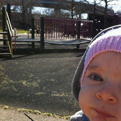 Photo taken at J J Carty Playground by Alaric H. on 3/11/2012