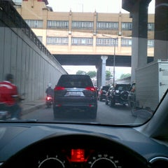 Photo taken at Underpass Tanah Abang by Gerry on 2/23/2012