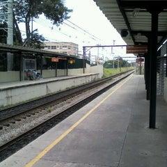 Photo taken at Estação Poá (CPTM) by Adriano M. on 2/24/2012