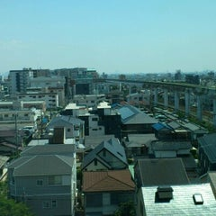 Photo taken at 大阪モノレール 蛍池駅 (Hotarugaike Sta.) by Shiu S. on 8/10/2012