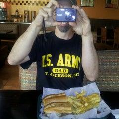 Photo taken at Jasmine Cafe Deli by Lori L. on 8/9/2012