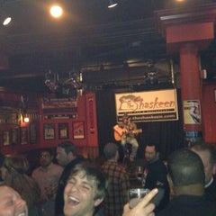 Photo taken at The Shaskeen Irish Pub by Darryl M. on 3/6/2012