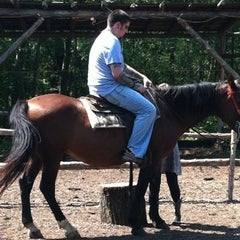 Photo taken at Juro Stables by Michael L. on 8/8/2012