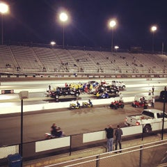 Photo taken at zMax Dragway by Worth S. on 4/14/2012