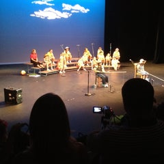 Photo taken at USF Theatre 2 by Sean W. on 6/3/2012