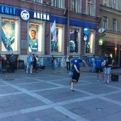 Photo taken at Зенит Арена by Anatoly E. on 7/22/2012