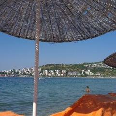Photo taken at New Season Beach by Refik Ü. on 7/15/2012
