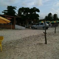 Photo taken at Barraca do Banga by Marcelo V. on 3/25/2012